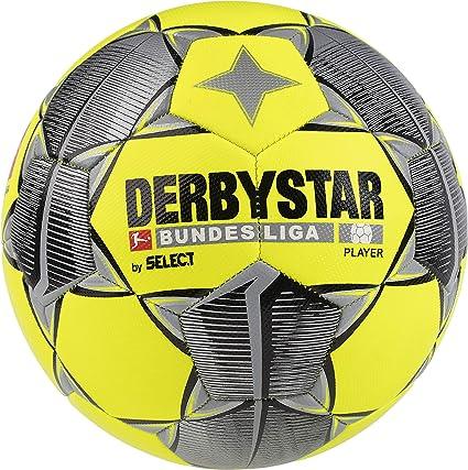 Derbystar 2019/2020 Bundesliga - Balón de fútbol, color amarillo ...