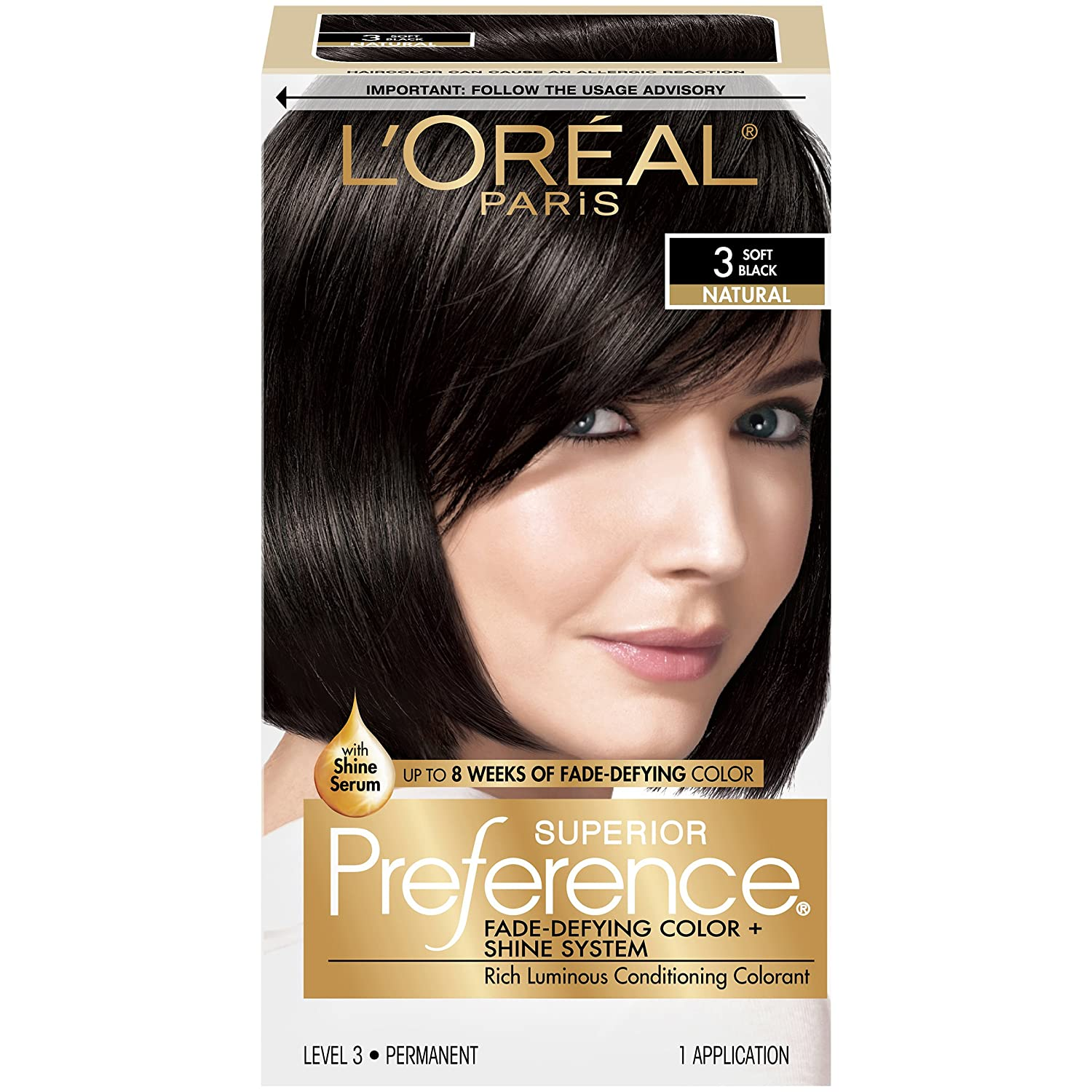 Buy Loreal Paris Superior Preference 3 Soft Black Online At Low