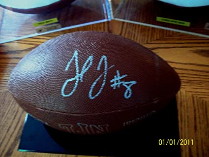 5a2f242e Julio Jones Atlanta Falcons Autographed Signed official NFL Wilson ...