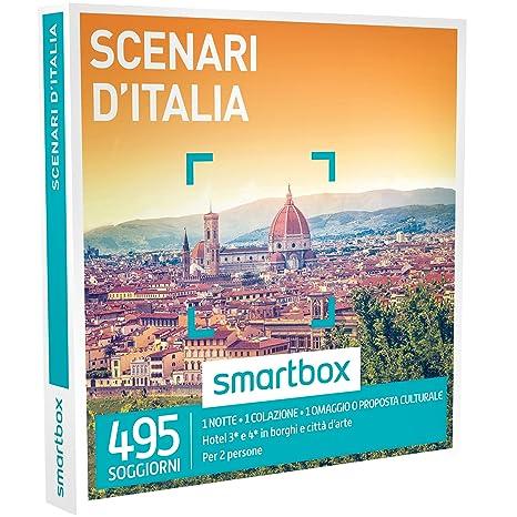 Smartbox Cofanetto Regalo - SCENARI D\'ITALIA - 495 soggiorni con ...