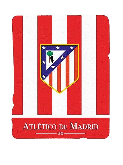Atlético de Madrid Manta Polar Escudo Rojo 130 x 160