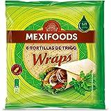 Mexifoods, Pane con harina integral envasado - Paquete de 6 x 375 gr Tot 2.25