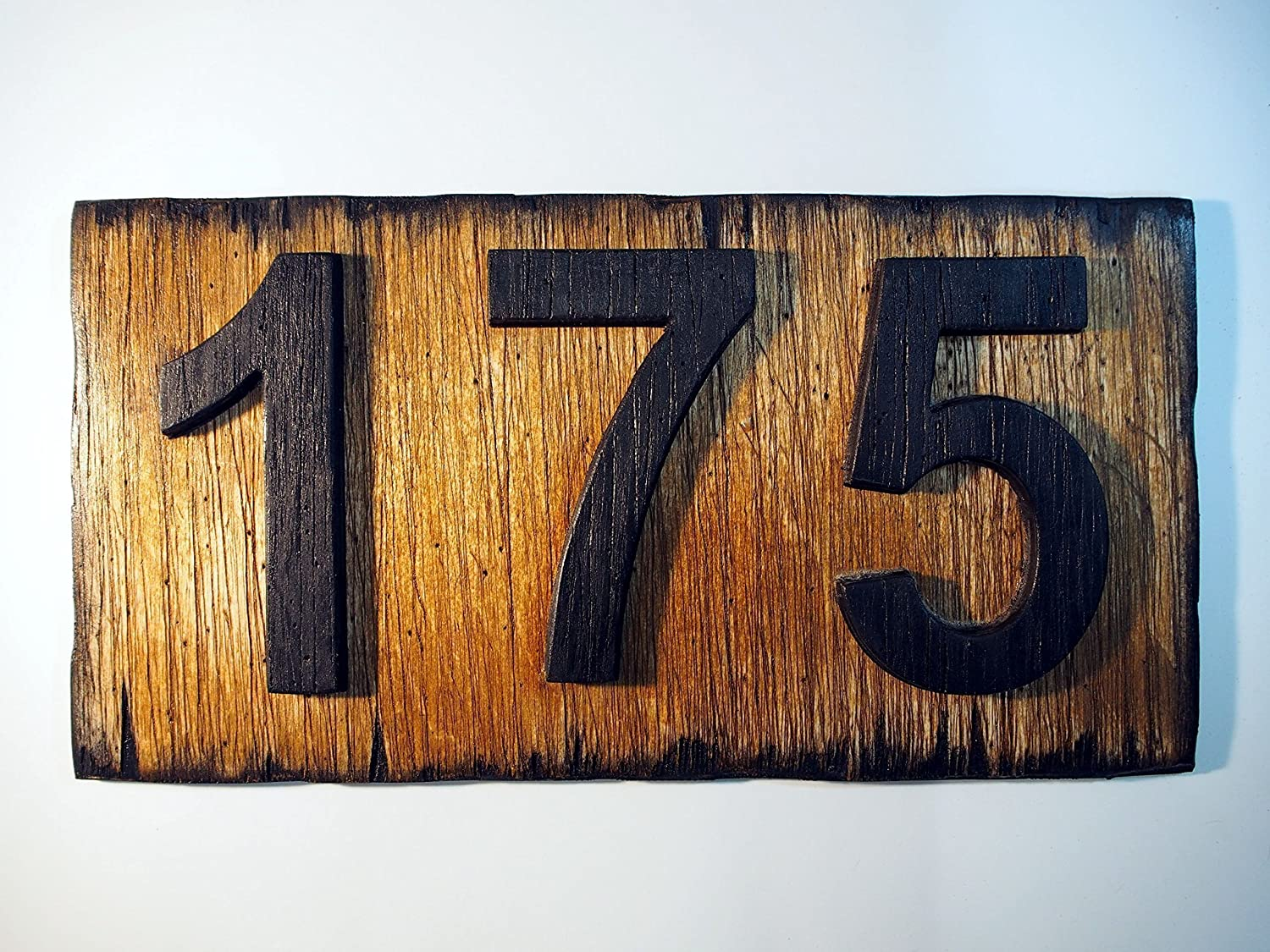Custom Address Plaque | Rustic House Address Signs | Made of distressed Wood | House numbers, address sign, cabin, cottage, housewarming gift