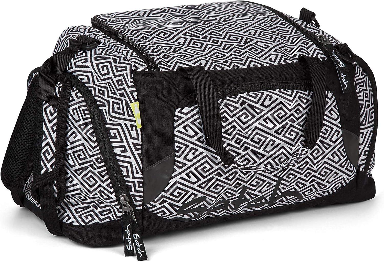 Checkered Grey//Black SATCH Checkplaid Kinder-Rucksack