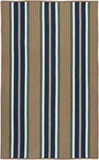 product image for Colonial Mills Mesa Stripe Braided Rug, 10' X 13' , Taupe Isle