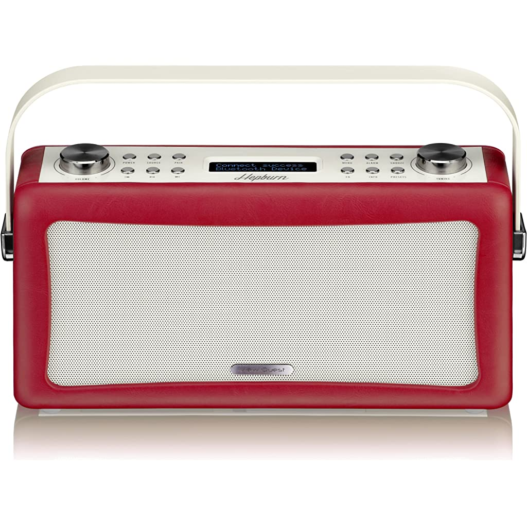 view-quest-hepburn-bluetooth-audio-system-with-dab-radio-red