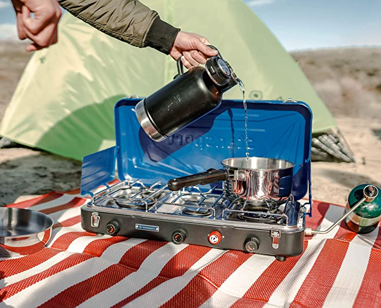 Stansport Outfitter Series 3-Burner Propane Stove