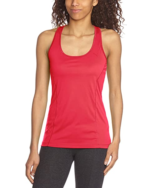 Puma Trainingstank ess gym long - Camiseta para mujer, tamaño XXL, color virtual de