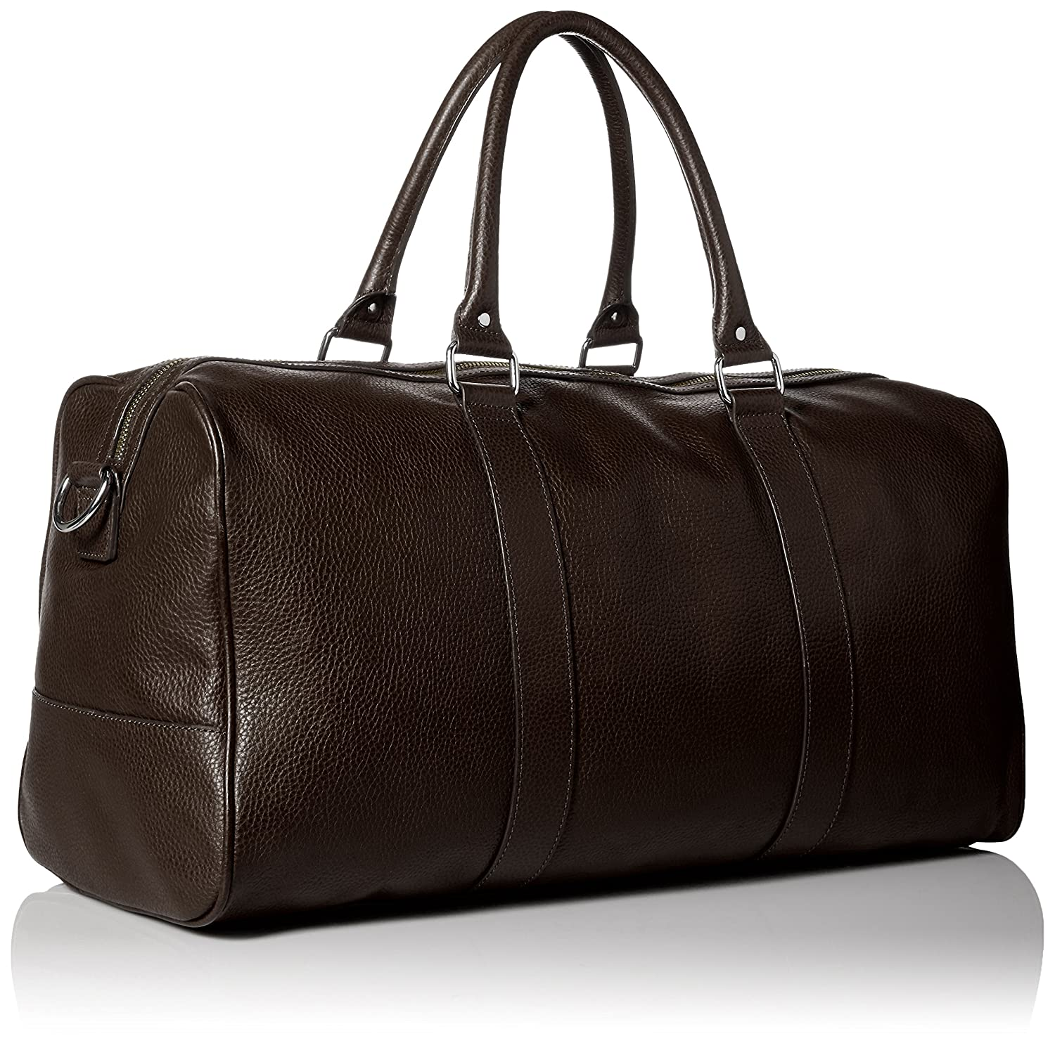 Amazon.com  Cole Haan Men s Pebble-Leather Duffle Bag 5c04bda093d48