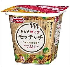 【焼きそばの新商品】エースコック 焼そばモッチッチ 99g×12個