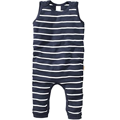wellyou baby strampler mädchen junge,babystrampler schlafstrampler in  marine-blau weiß  Amazon.de  Bekleidung ef2bb5dc16