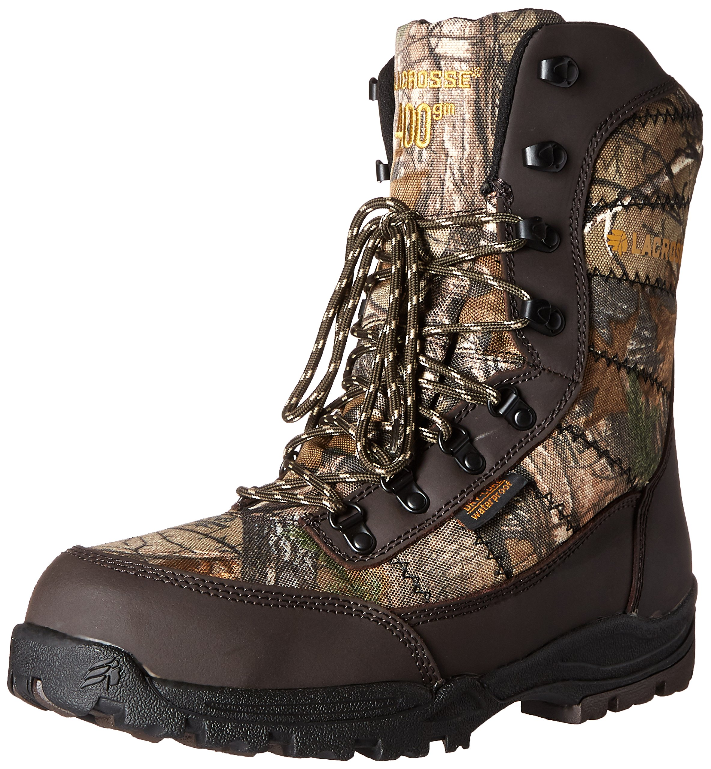 Lacrosse Men's Silencer Realtree Xtra 400G Hunting Boot, Real Tree, 9.5 M US