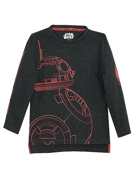 Star Wars - Camiseta de Mangas largas para niño BB8: Amazon.es: Ropa y accesorios