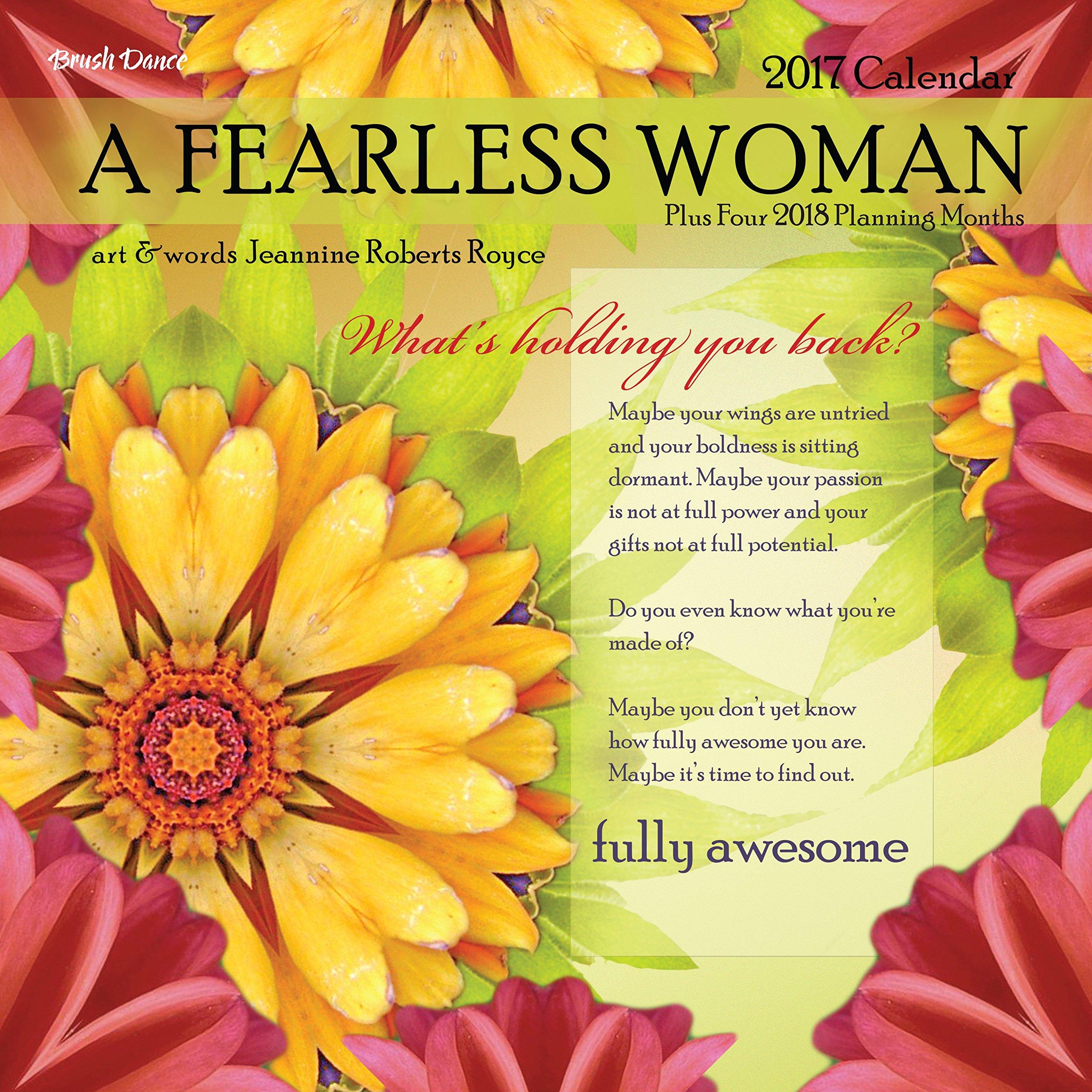 A Fearless Woman 2017 Wall Calendar