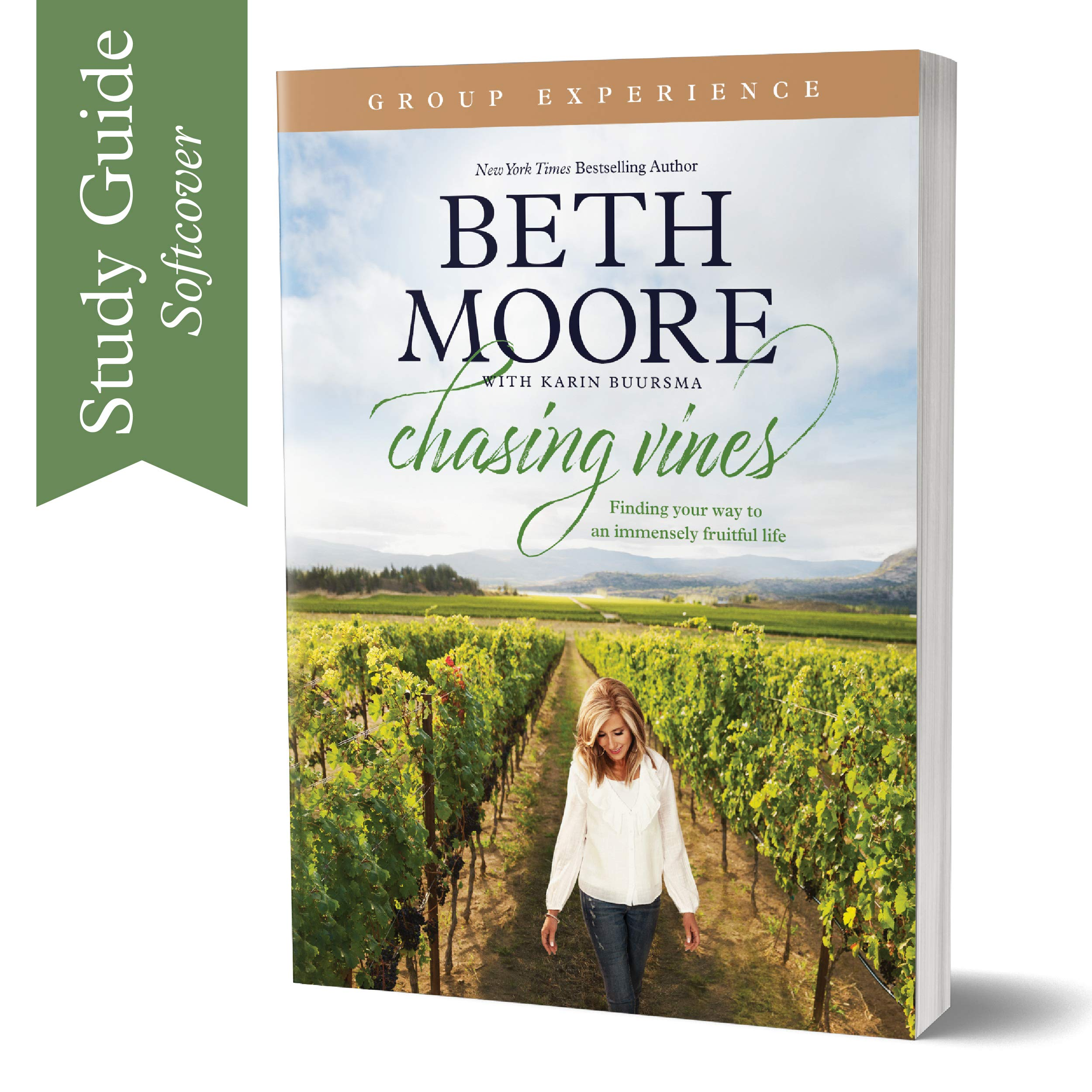 Chasing Vines Group Experience: Finding Your Way to an Immensely Fruitful Life (Paperback) – By Beth Moore – A Study…