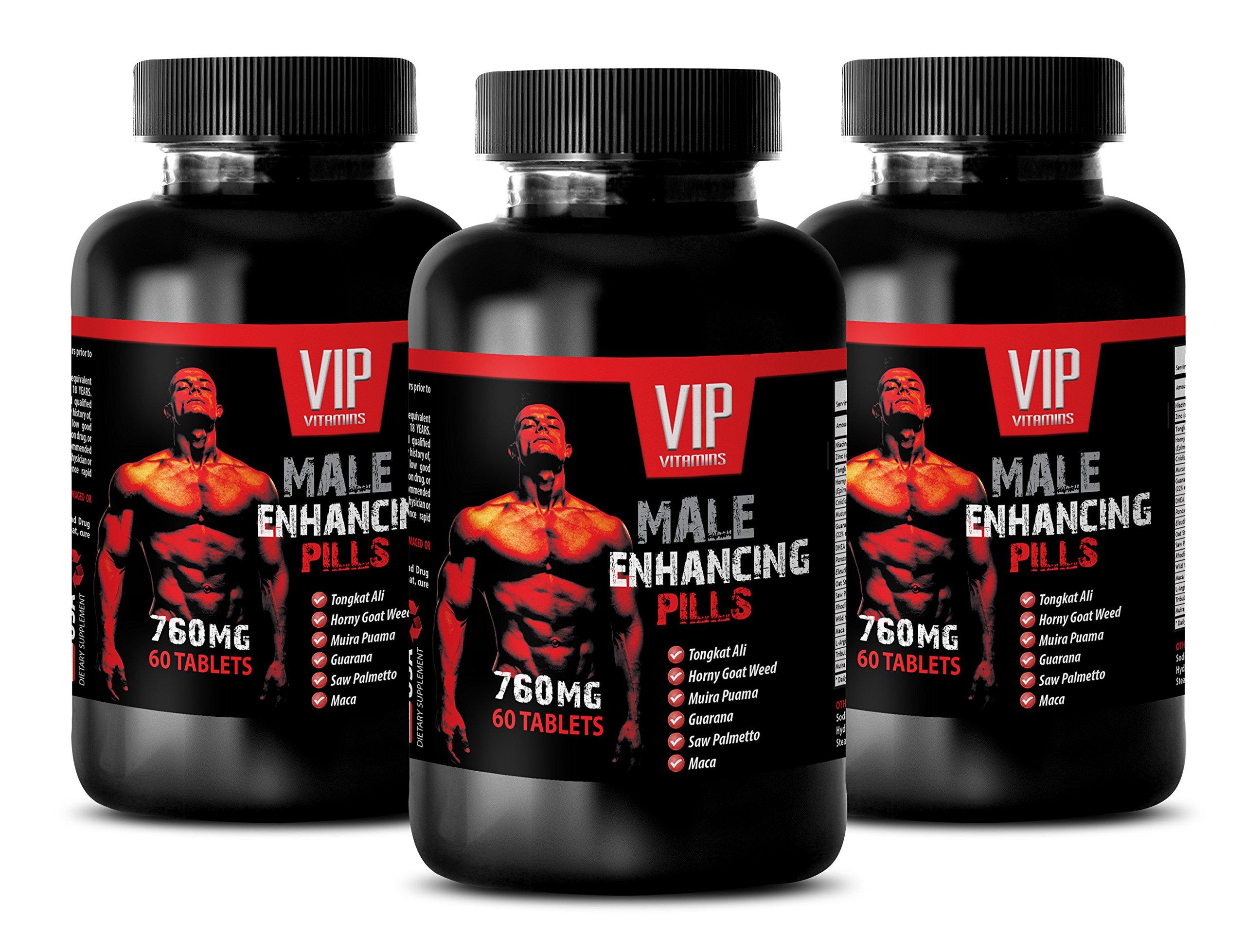 steel libido for men - MALE ENHANCING PILLS 760 Mg - maca for men - 3 Bottles (180 Tablets)