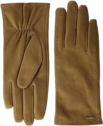689d7adb620c BOSS Women s Gueen Gloves  Amazon.co.uk  Clothing