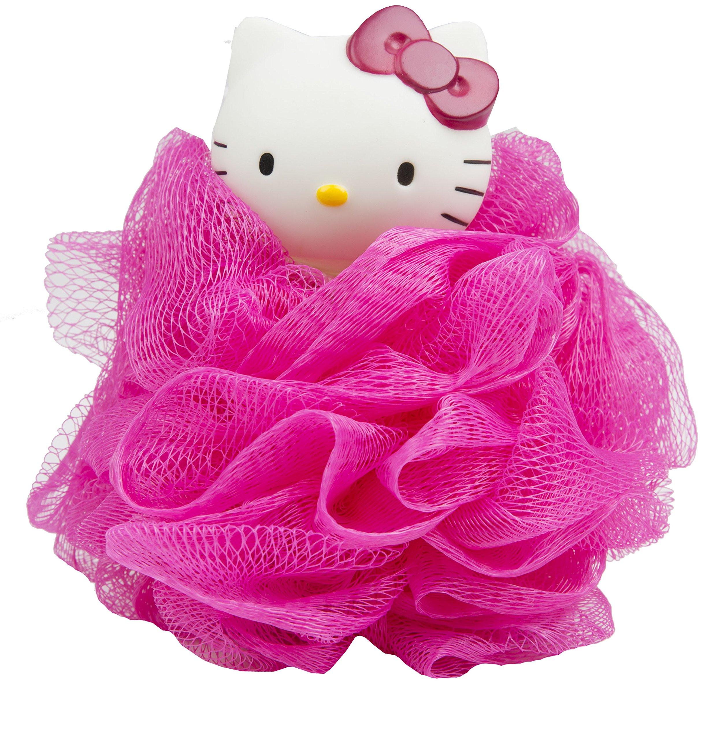 Ginsey Hello Kitty Bath Pouf- Pink