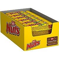 Nestlé NUTS, hazelnoot chocolade met karamelvulling, hele hazelnoten en lekkere snoepcrème, ommanteld met chocolade, 24…