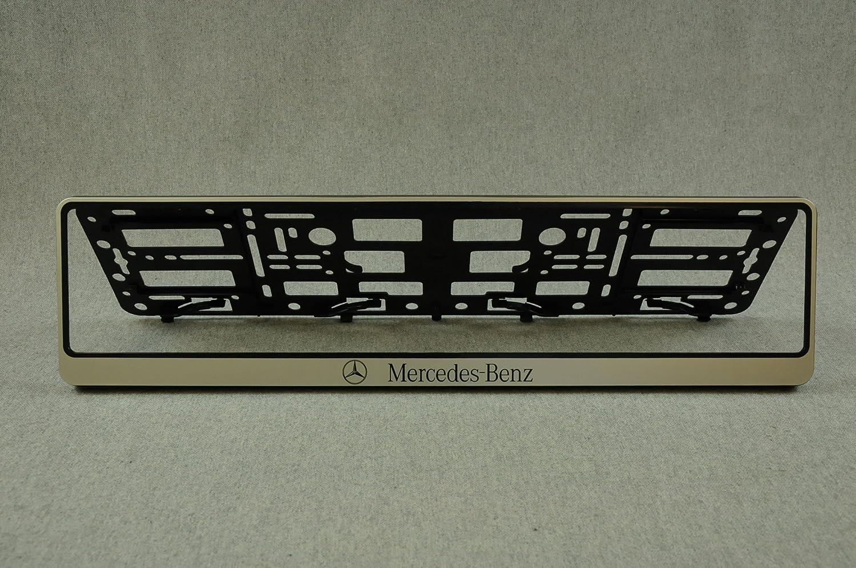 Set 2 x Kennzeichenhalter Kennzeichenhalterung Nummernschildhalter ...