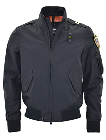 BLAUER USA Jacke Bomber NYPD Jacket anthrazit SS2017. Neue