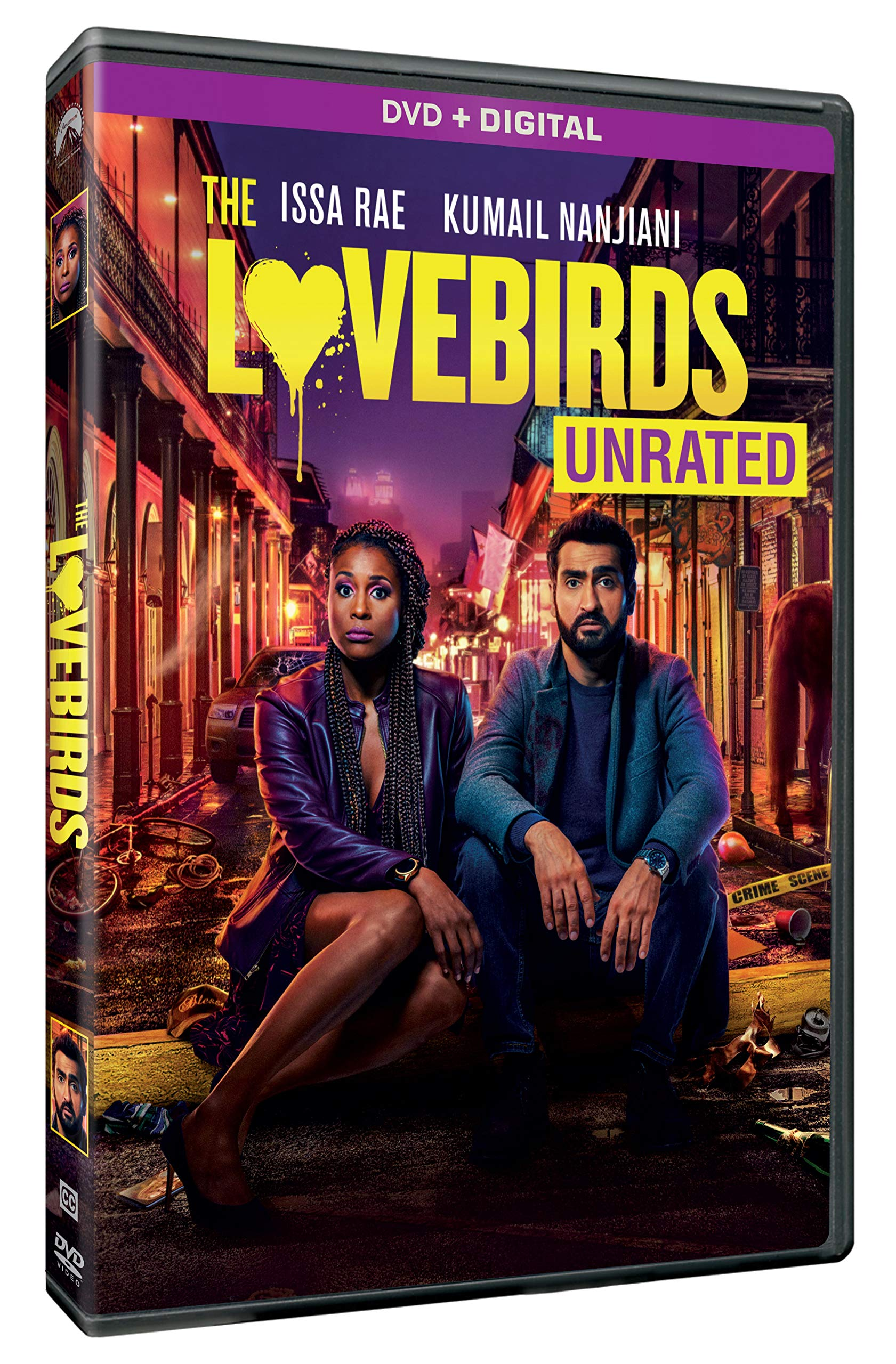 Book Cover: The Lovebirds