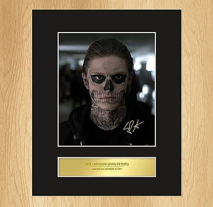 Tate Langdon - Evan Peters - Foto Incorniciata E Firmata, American ...