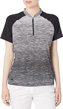adidas Novelty Short Sleeve Polo, Mujer: Amazon.es: Deportes y ...