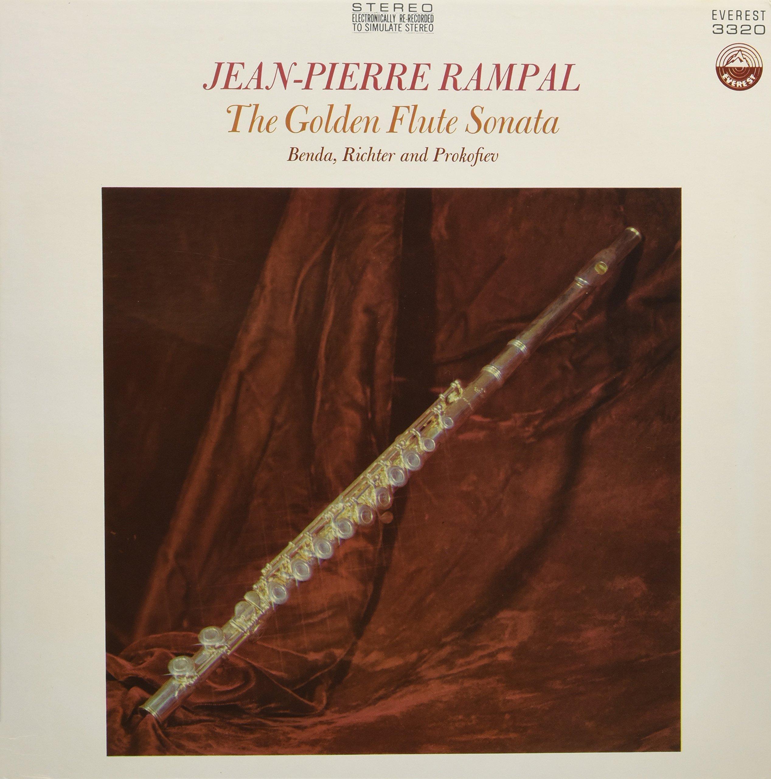 Vinilo : Jean Rampal Pierre - Golden Flute Sonata (LP Vinyl)