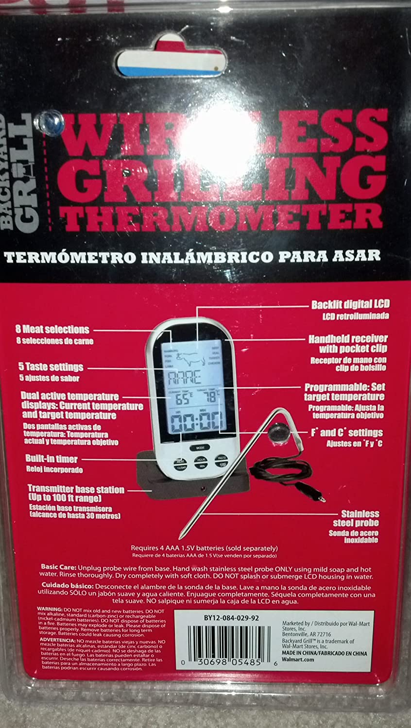 backyard grill wireless thermometer part 19 thermopro tp20
