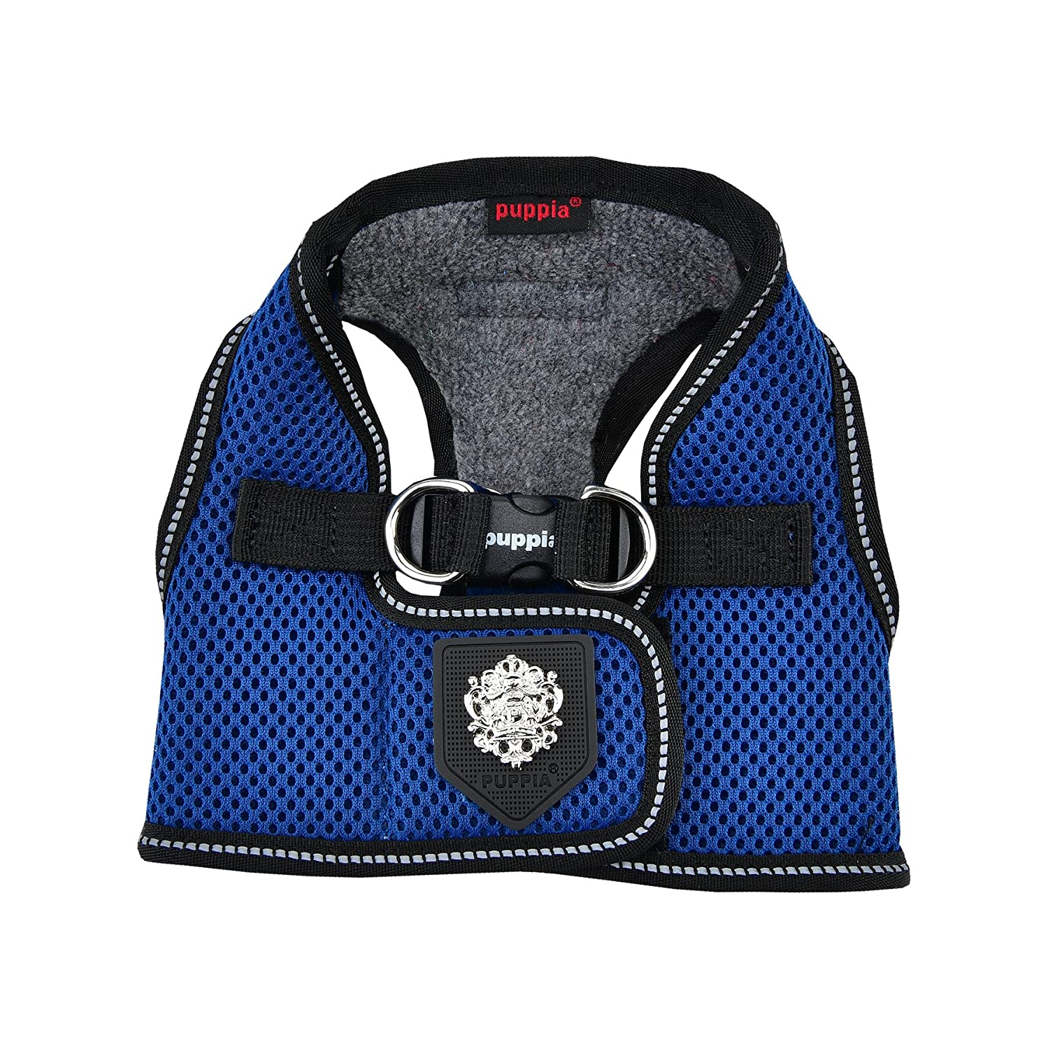 Royal bluee Small Royal bluee Small Puppia Thermal Soft Vest Harness®, Small, Royal bluee