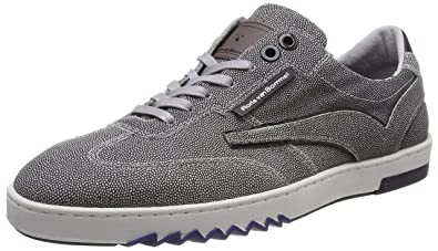 Herren 16074 Sneaker, Weiß (White), 44.5 EU (10 UK) Floris Van Bommel
