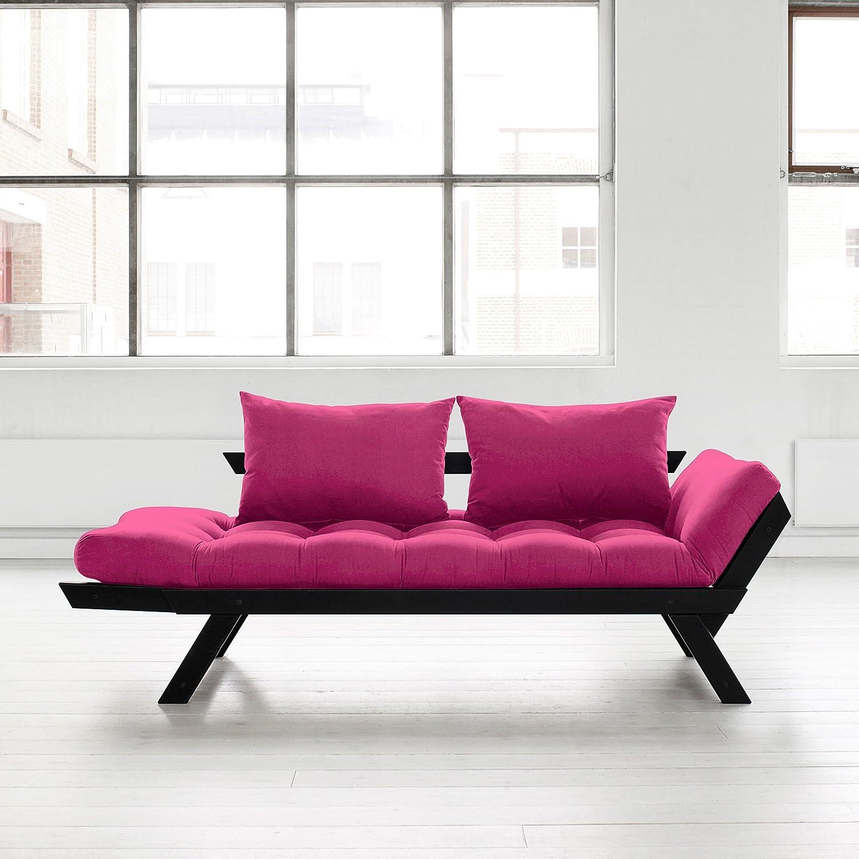 amazon com fresh futon bebop convertible futon sofa bed black