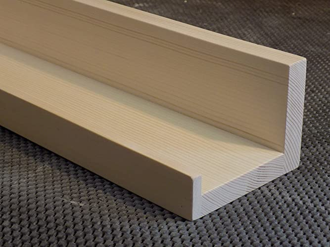 Unfinished Floating Ledge Shelf Picture You Choose Length 12quot 14quot