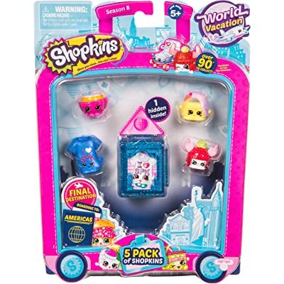Shopkins Season 8 America Toy 5 Pack: Shopkins: Toys & Games