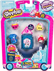 Shopkins Season 8 America Toy 5 Pack