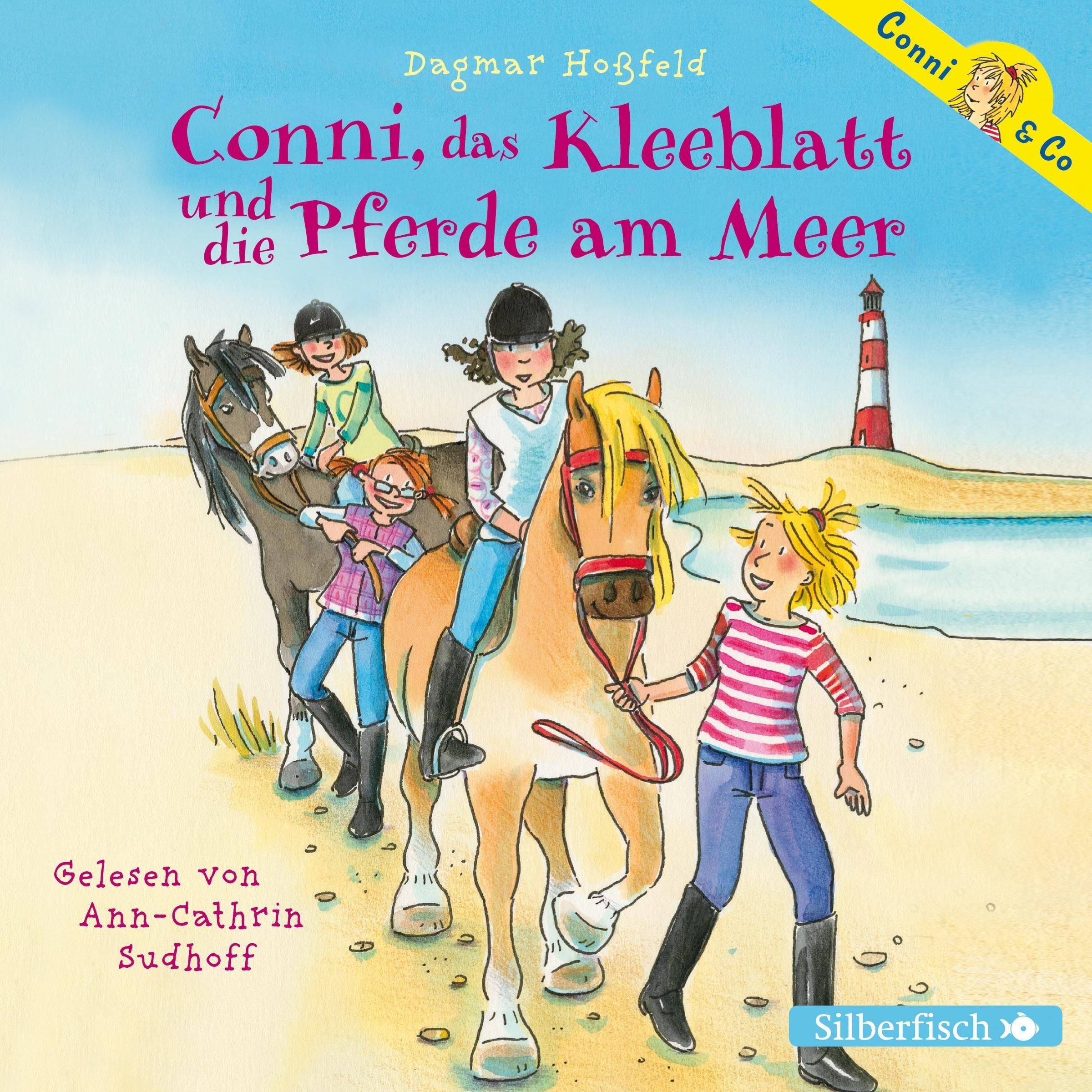 Conni, das Kleeblatt und die Pferde am Meer: 2 CDs (Conni & Co, Band 11)