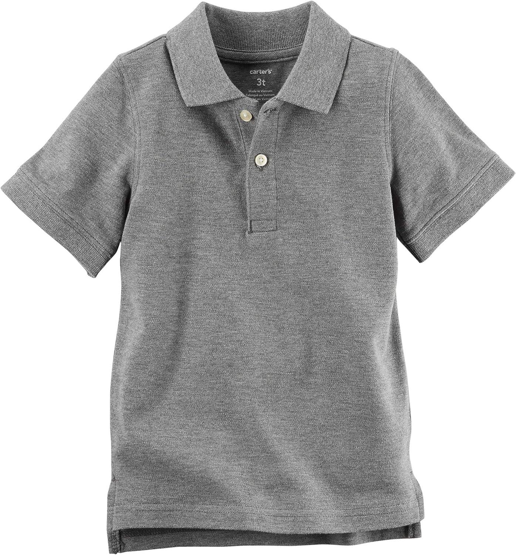 Carters Toddler Boys Pique Polo Shirt