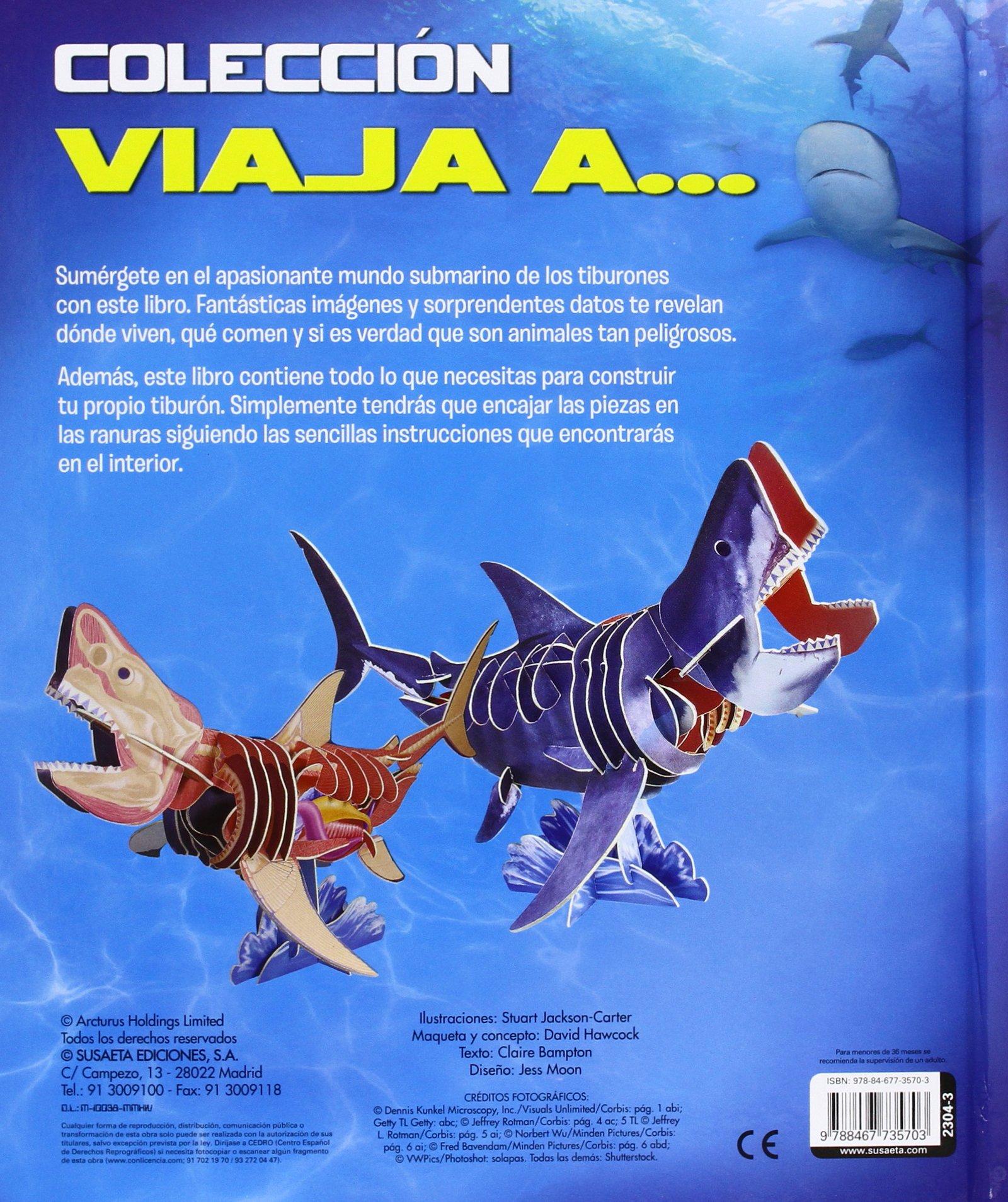 El increíble tiburón: Claire Bampton: 9788467735703: Amazon ...