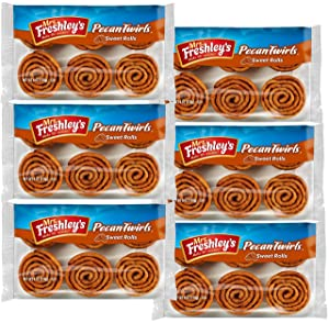 Mrs. Freshley's Pecan Twirls Sweet Rolls | 36 Count