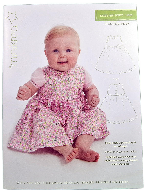 Schnittmuster Kleid für Neugeborene & Babys / Gr. 50-74cm / 1x0005 ...