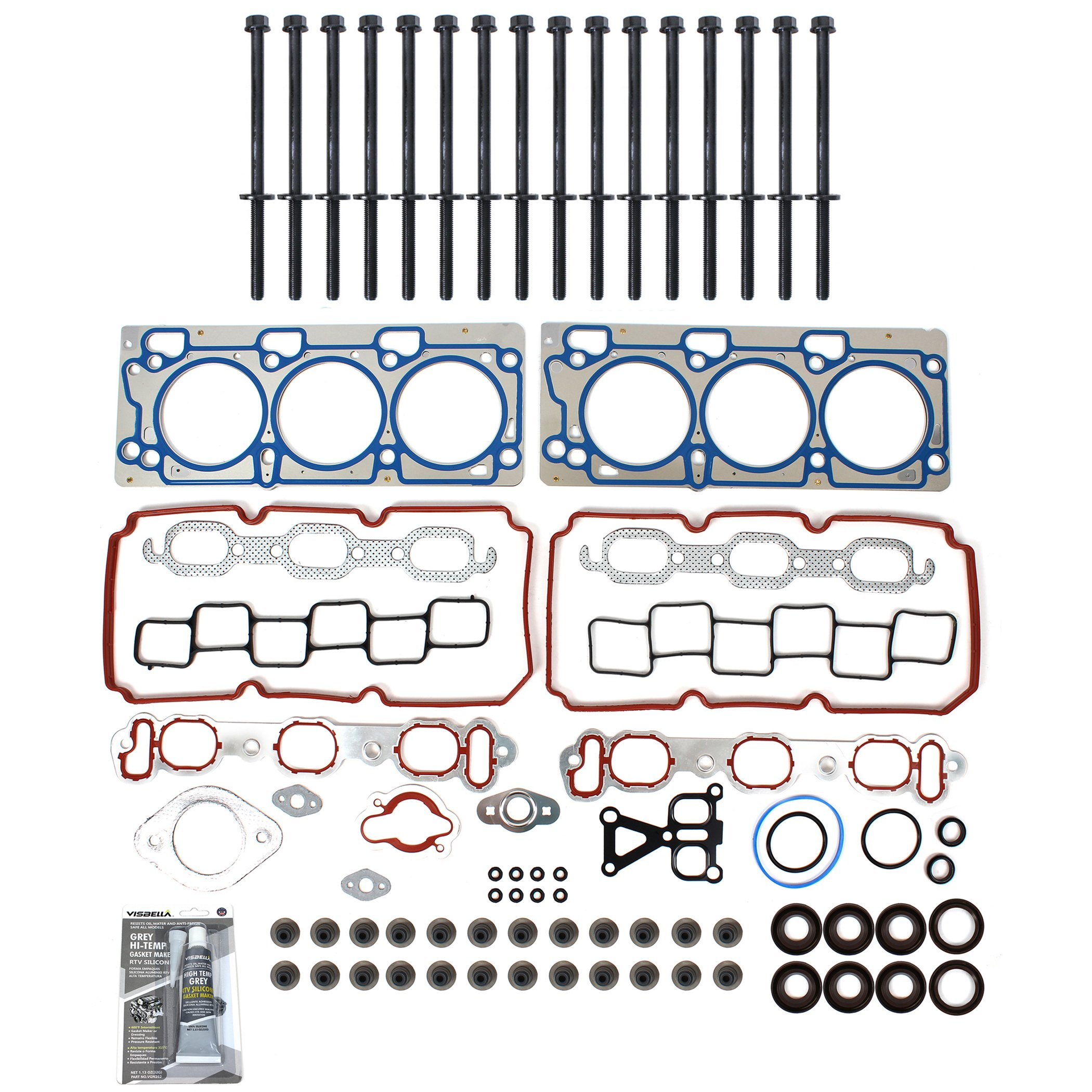 TS2620802HB Brand New MLS Cylinder Head Gasket Set and Head Bolt Kit by CNS EngineParts