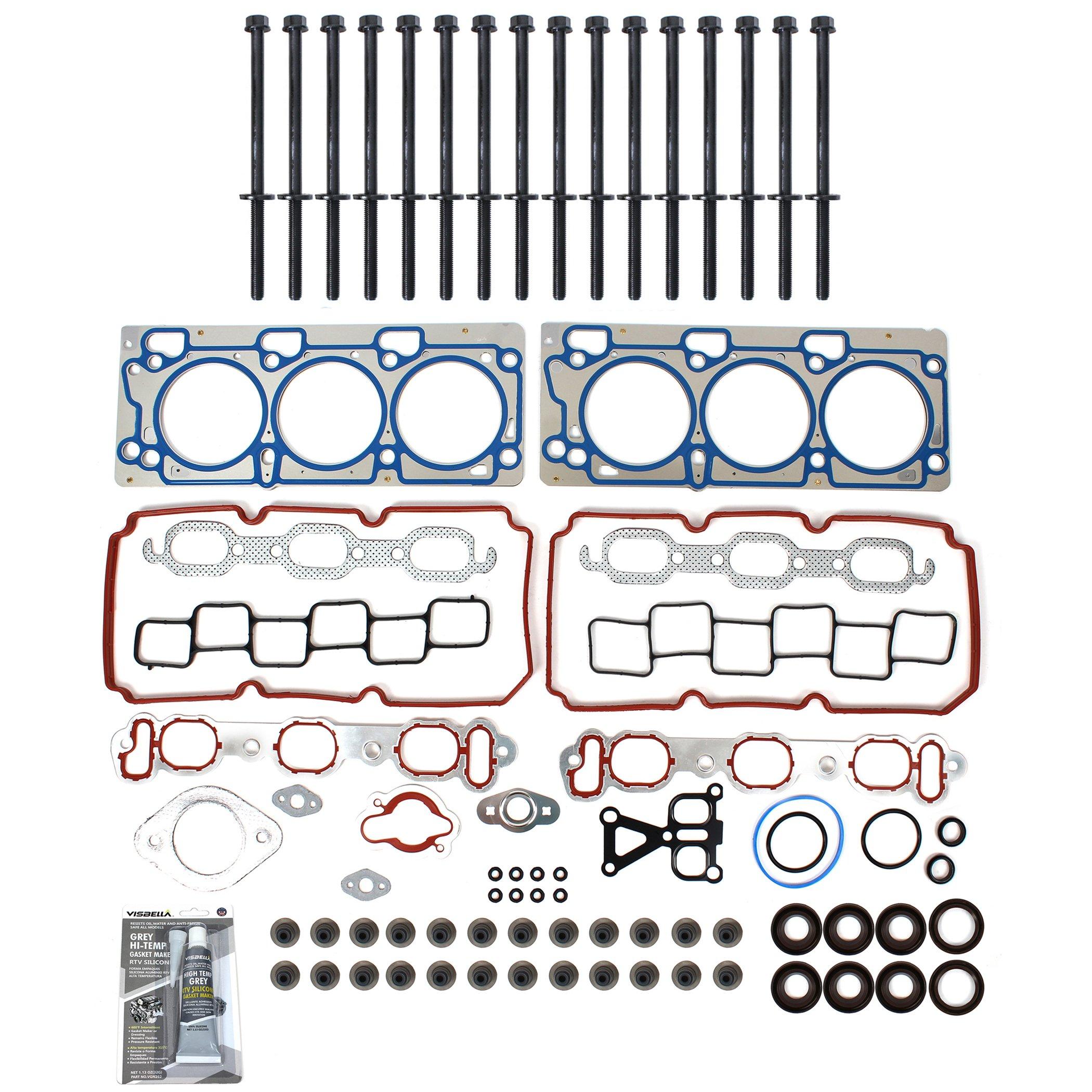 TS2620802HB Brand New MLS Cylinder Head Gasket Set and Head Bolt Kit