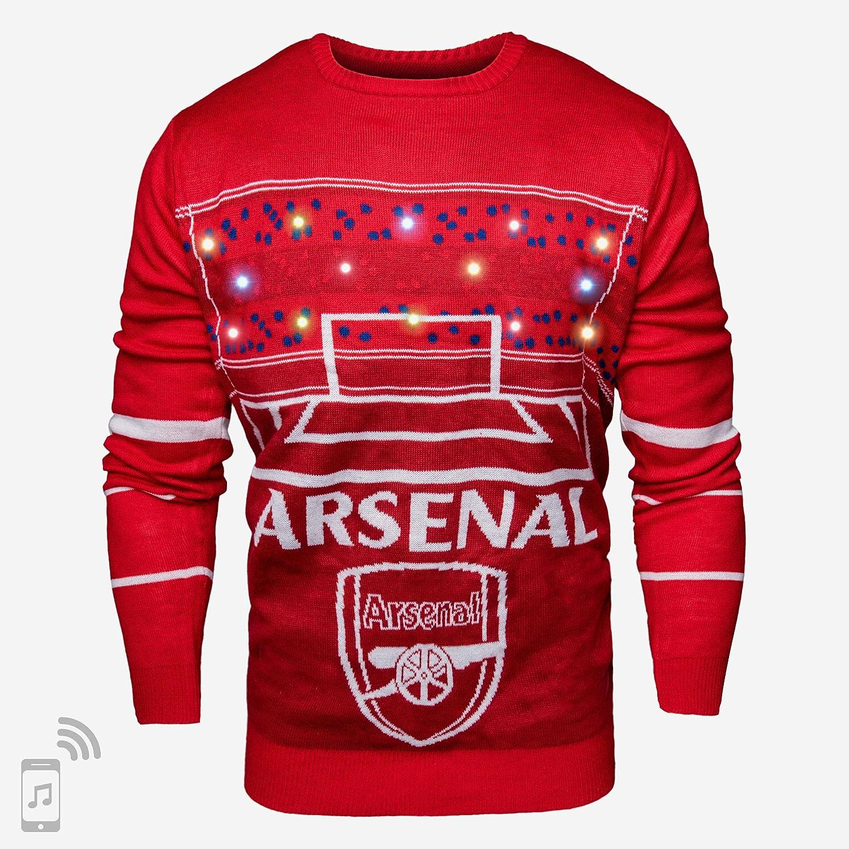 FOCO Arsenal FC Pull Lumineux de No/ël