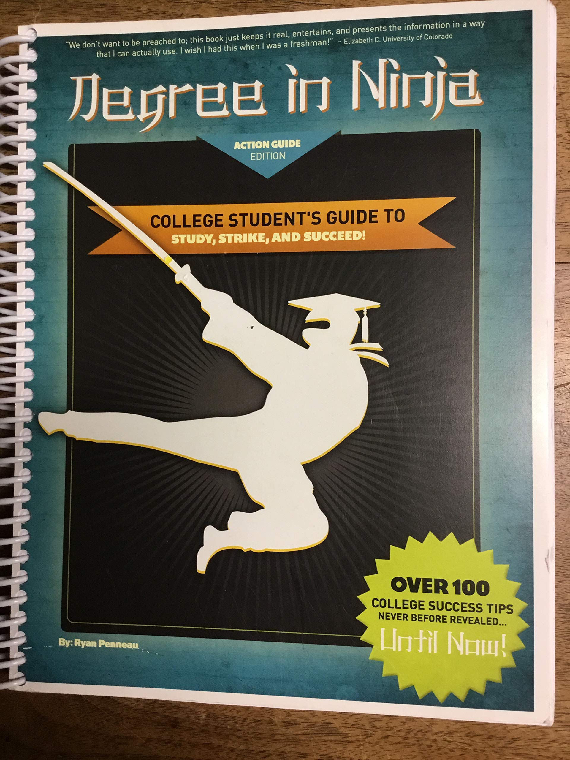 Degree in Ninja College Students Guide to Study, Strike ...