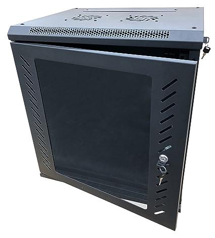 kenuco 12u wall mount rack server cabinet data network enclosure 19 inch server network rack
