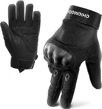 Tactical Fingerless Hard Knuckle Men Gloves Motorbike Military Combat Knuckle
