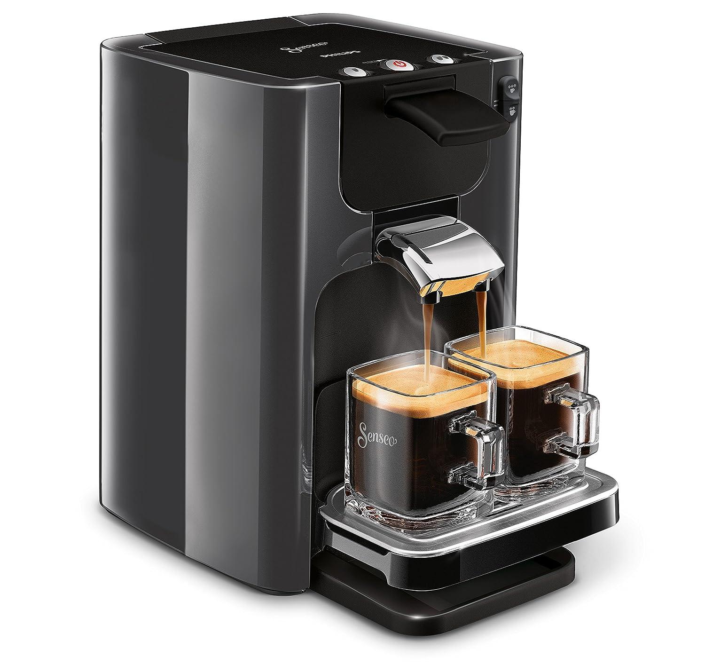 Senseo Quadrante HD7866/21 - Cafetera (Independiente, Máquina de café en cápsulas, 1,2 L, Dosis de café, 1450 W, Gris): Amazon.es: Hogar