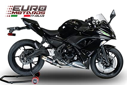 Amazon.com: Kawasaki Ninja 650 2017 GPR Exhaust Full System ...