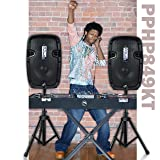 Powered PA Speaker System Active & Passive